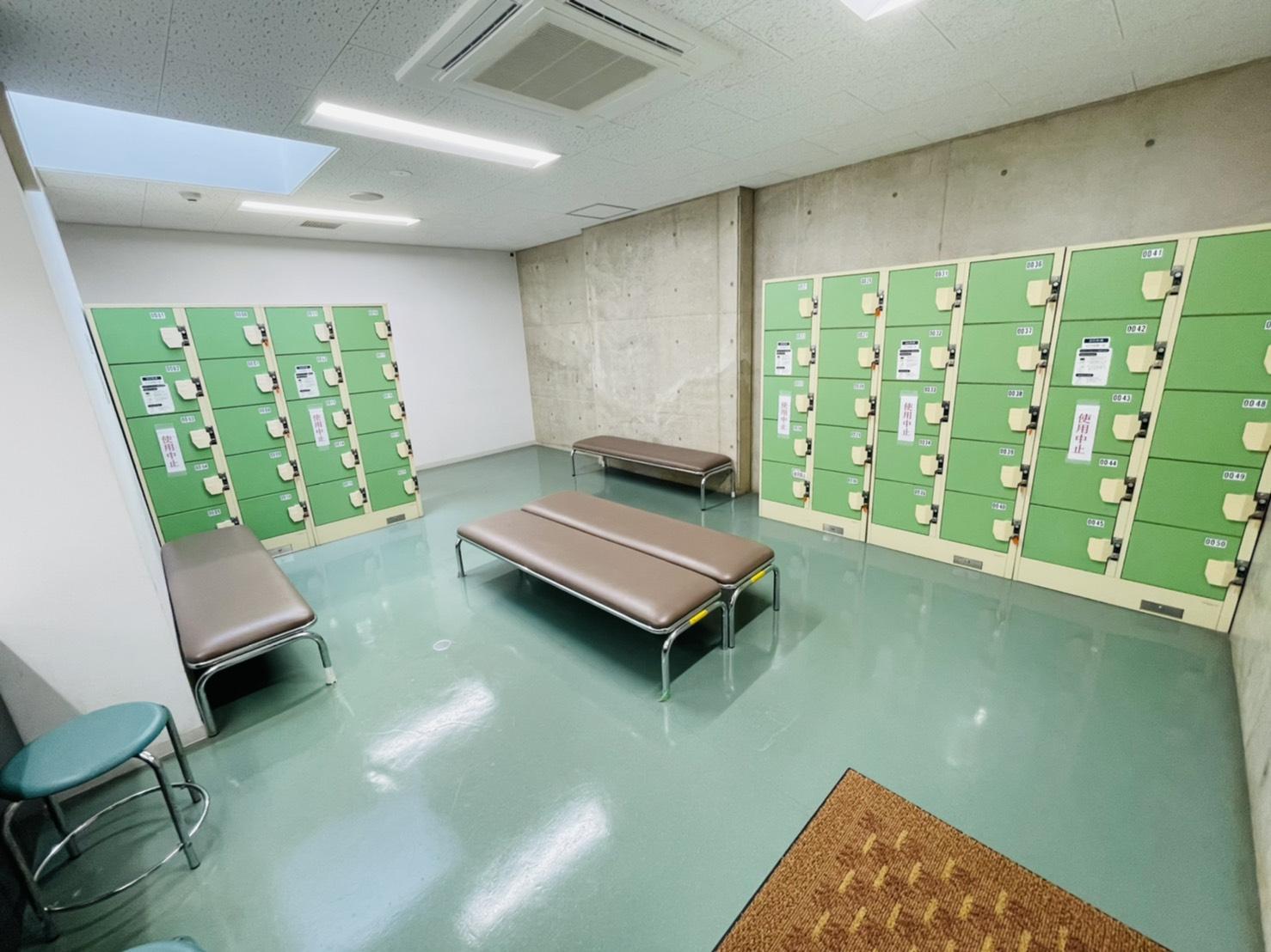 画像:更衣室